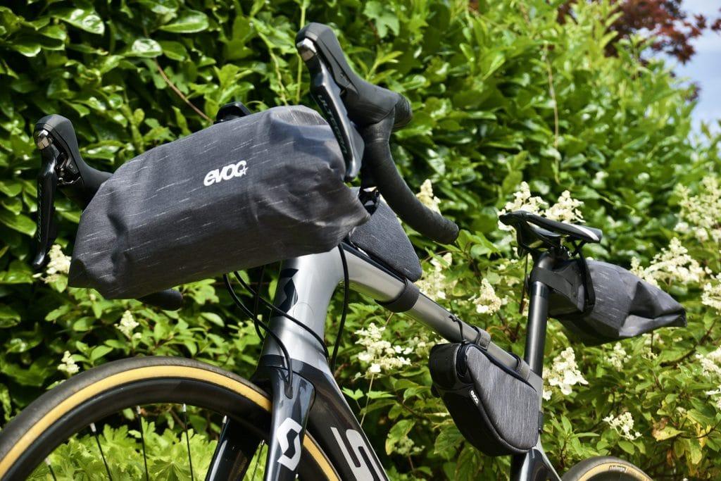 Bikepacking tassen evoc