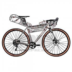 Bikepacking tassen verhuur