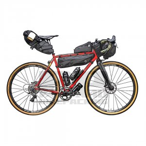 Bikepacking verhuur AGU